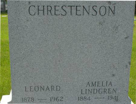 CHRESTENSON, AMELIA - Ida County, Iowa | AMELIA CHRESTENSON