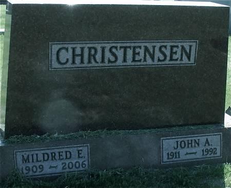 CHRISTENSEN, JOHN A. - Ida County, Iowa | JOHN A. CHRISTENSEN