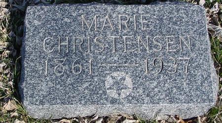 CHRISTENSEN, MARIE - Ida County, Iowa | MARIE CHRISTENSEN