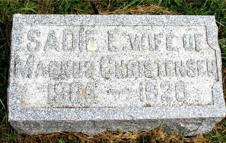 CHRISTENSEN, SADIE E. - Ida County, Iowa | SADIE E. CHRISTENSEN