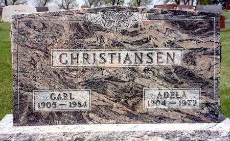 CHRISTIANSEN, ADELA - Ida County, Iowa   ADELA CHRISTIANSEN