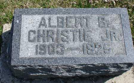 CHRISTIE, ALBERT B.,  JR. - Ida County, Iowa | ALBERT B.,  JR. CHRISTIE