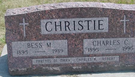 CHRISTIE, CHARLES & BESS - Ida County, Iowa | CHARLES & BESS CHRISTIE