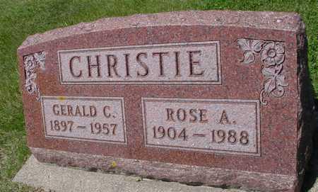 CHRISTIE, GERALD C. & ROSE A. - Ida County, Iowa | GERALD C. & ROSE A. CHRISTIE