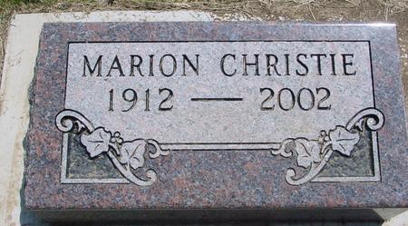 CHRISTIE, MARION - Ida County, Iowa | MARION CHRISTIE