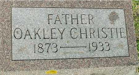CHRISTIE, OAKLEY - Ida County, Iowa   OAKLEY CHRISTIE