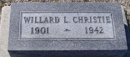 CHRISTIE, WILLARD L. - Ida County, Iowa   WILLARD L. CHRISTIE