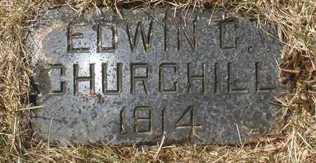 CHURCHILL, EDWIN C. - Ida County, Iowa | EDWIN C. CHURCHILL