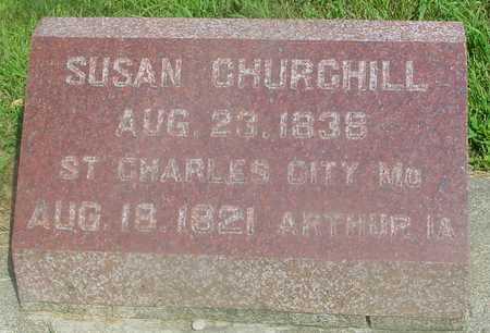 CHURCHILL, SUSAN - Ida County, Iowa   SUSAN CHURCHILL