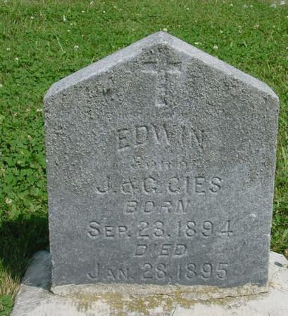 CIES, EDWIN - Ida County, Iowa | EDWIN CIES