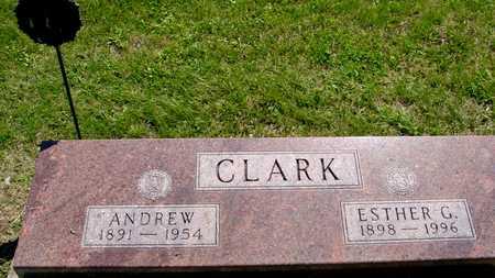 CLARK, ANDREW & ESTHER - Ida County, Iowa   ANDREW & ESTHER CLARK