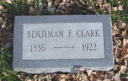 CLARK, BENJIMAN - Ida County, Iowa | BENJIMAN CLARK