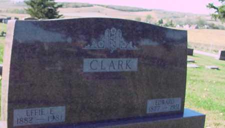 CLARK, EDWARD & EFFIE - Ida County, Iowa | EDWARD & EFFIE CLARK