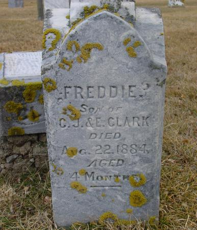 CLARK, FREDDIE - Ida County, Iowa   FREDDIE CLARK