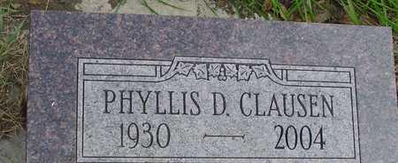 CLAUSEN, PHYLLIS D. - Ida County, Iowa | PHYLLIS D. CLAUSEN