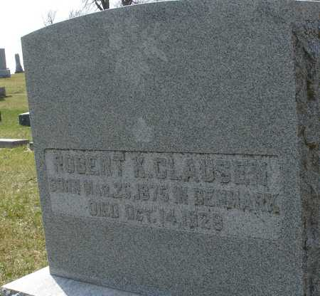 CLAUSEN, ROBERT K. - Ida County, Iowa | ROBERT K. CLAUSEN