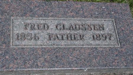CLAUSSEN, FRED - Ida County, Iowa   FRED CLAUSSEN