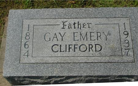 CLIFFORD, GAY EMERY - Ida County, Iowa | GAY EMERY CLIFFORD