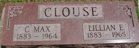 CLOUSE, C. MAX & LILLIAN E. - Ida County, Iowa   C. MAX & LILLIAN E. CLOUSE