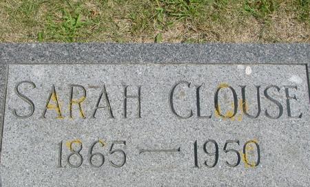 CLOUSE, SARAH - Ida County, Iowa | SARAH CLOUSE