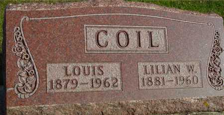 COIL, LOUIS & LILIAN W. - Ida County, Iowa | LOUIS & LILIAN W. COIL