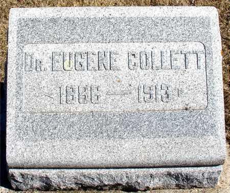 COLLETT, DR. EUGENE - Ida County, Iowa   DR. EUGENE COLLETT