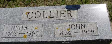 COLLIER, JOHN & NEITA L. - Ida County, Iowa | JOHN & NEITA L. COLLIER