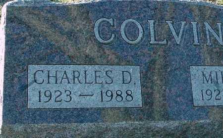 COLVIN, CHARLES D. - Ida County, Iowa | CHARLES D. COLVIN