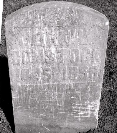 COMSTOCK, JOHN L. - Ida County, Iowa | JOHN L. COMSTOCK