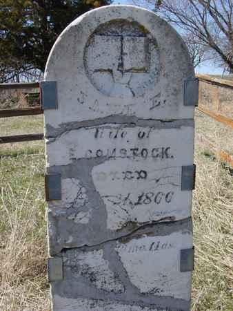 COMSTOCK, JANE ELIZABETH - Ida County, Iowa | JANE ELIZABETH COMSTOCK