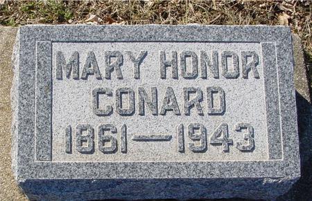 CONARD, MARY - Ida County, Iowa   MARY CONARD