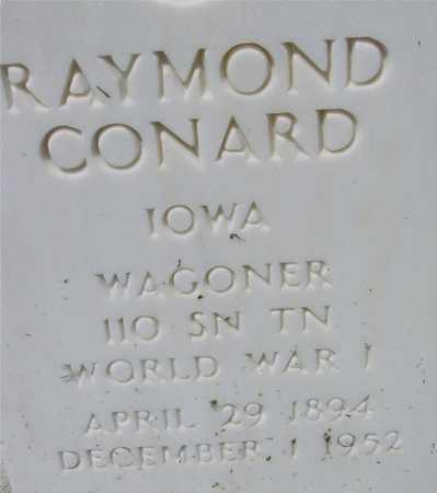 CONARD, RAYMOND - Ida County, Iowa | RAYMOND CONARD