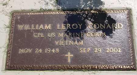 CONARD, WILLIAM LEROY - Ida County, Iowa | WILLIAM LEROY CONARD
