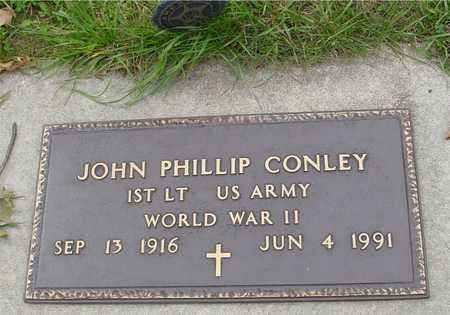 CONLEY, JOHN PHILLIP - Ida County, Iowa   JOHN PHILLIP CONLEY