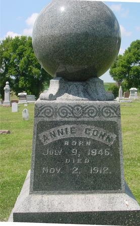 CONN, ANNIE E. - Ida County, Iowa | ANNIE E. CONN