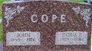 COPE, DORIS E. - Ida County, Iowa | DORIS E. COPE