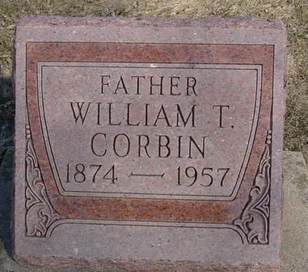CORBIN, WILLIAM T. - Ida County, Iowa | WILLIAM T. CORBIN