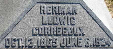 CORREGOUX, HERMAN LUDWIG - Ida County, Iowa | HERMAN LUDWIG CORREGOUX