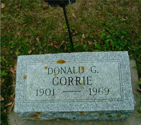 CORRIE, DONALD G. - Ida County, Iowa | DONALD G. CORRIE