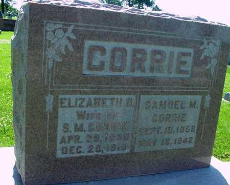CORRIE, SAM & ELIZABETH - Ida County, Iowa   SAM & ELIZABETH CORRIE