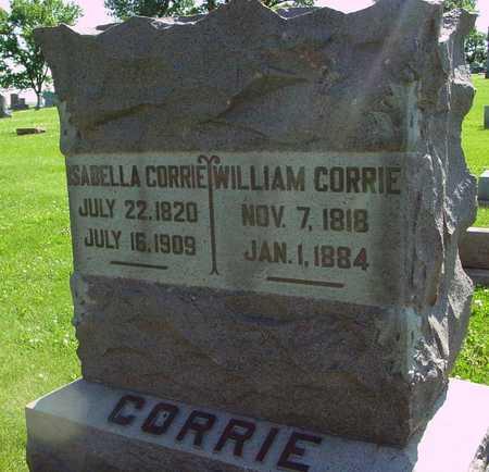 CORRIE, WILLIAM & ISABELLA - Ida County, Iowa | WILLIAM & ISABELLA CORRIE