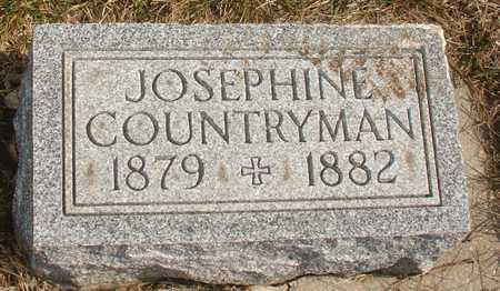 COUNTRYMAN, JOSEPHINE - Ida County, Iowa   JOSEPHINE COUNTRYMAN