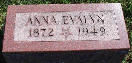 CRANE, ANNA EVALYN - Ida County, Iowa | ANNA EVALYN CRANE