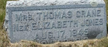 CRANE, ELIZABETH - Ida County, Iowa | ELIZABETH CRANE