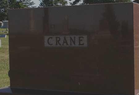 CRANE, FAMILY MARKER - Ida County, Iowa   FAMILY MARKER CRANE