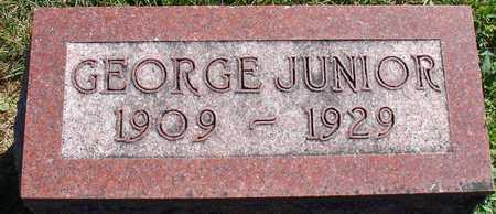 CRANE, GEORGE JUNIOR - Ida County, Iowa   GEORGE JUNIOR CRANE