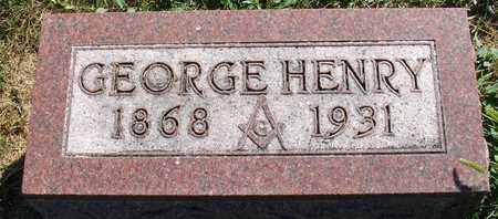 CRANE, GEORGE HENRY - Ida County, Iowa | GEORGE HENRY CRANE