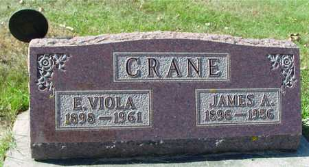 CRANE, JAMES & E. VIOLA - Ida County, Iowa | JAMES & E. VIOLA CRANE