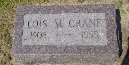 CRANE, LOIS - Ida County, Iowa | LOIS CRANE