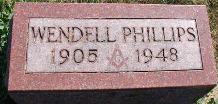 CRANE, WENDELL PHILLIPS - Ida County, Iowa | WENDELL PHILLIPS CRANE